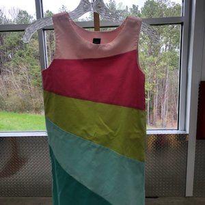 Gap Color Block Dress